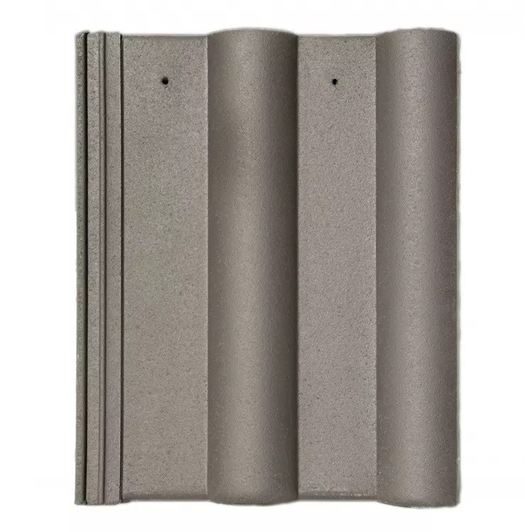 Crest Double Roman Roof Tile Anthracite Grey Image