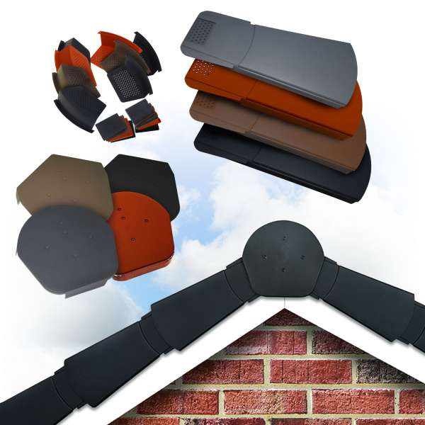 Easy Trim Dry Verge and Eave Support Tray, Fiba Pol Image