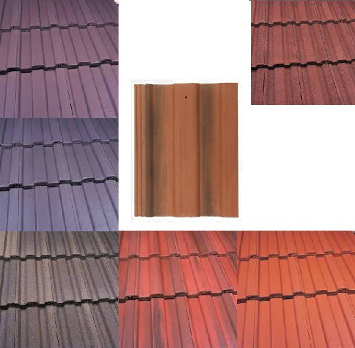 Marley Ludlow Major Roof Tiles (Smooth Grey, Smooth Brown, Antique Brown, Old English, Mosborough Red, Dark Red) Image