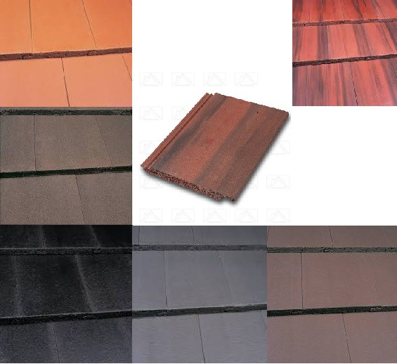 Marley Modern Roof Tiles (Anthracite, Smooth Grey, Smooth Brown, Antique Brown, Old English, Mosborough Red) Image