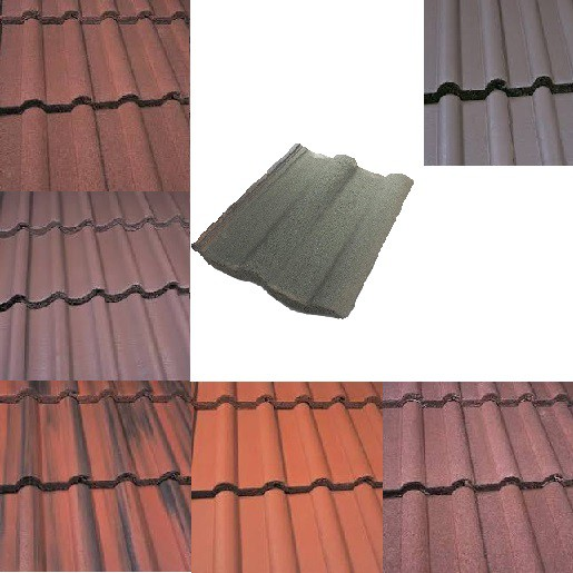 Marley Double Roman Roof Tiles (Smooth Grey, Smooth Brown, Antique Brown, Old English, Mosborough Red, Dark Red) Image