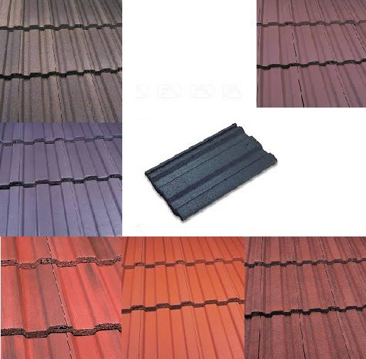 Marley Ludlow Plus Roof Tiles (Smooth Grey, Smooth Brown, Antique Brown, Old English, Mosborough Red, Dark Red) Image