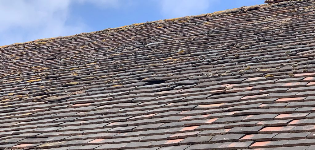 The dangers of a slipped roof tile