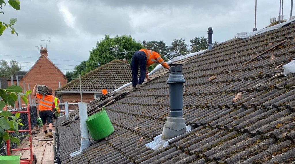Preparing a roof for Autumn and Winter