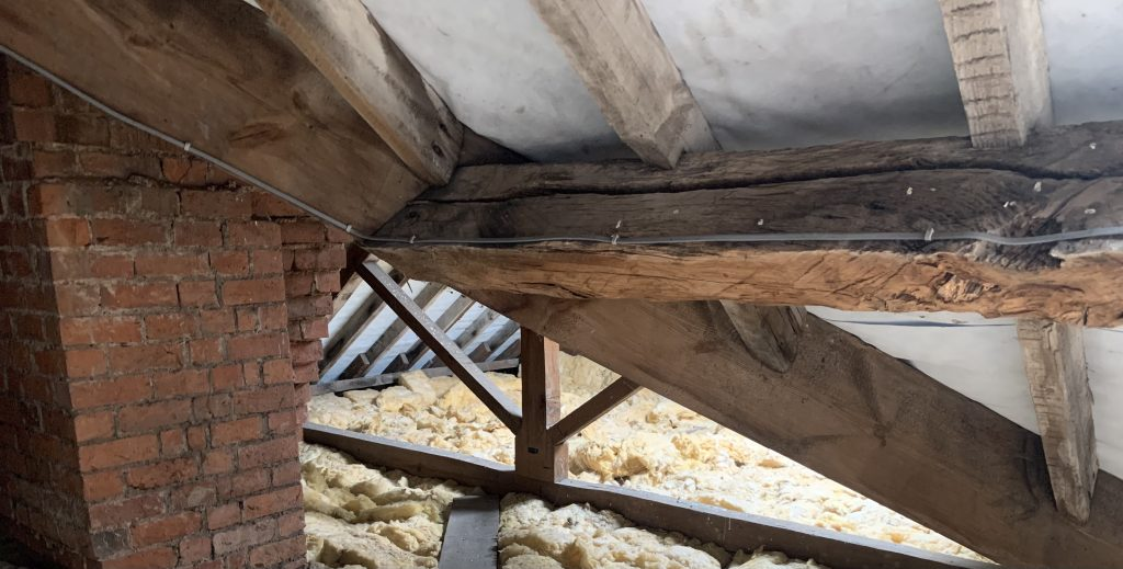 Why does a roof creak?